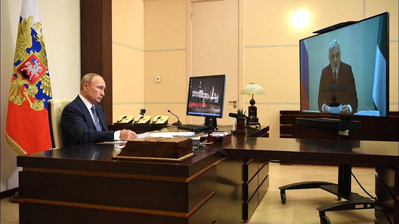 Путин и врио Республики Коми обсудили состояние дорог в регионе