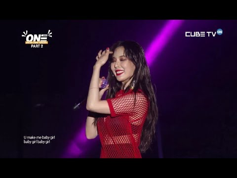 HYUNA - (INTRO) LIP&HIP,BABE & ROLL DEEP @ UNITED CUBE CONCERT 2018