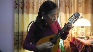 Ở trường cô dạy em thế -Nhạc Nga- Mandolin Việt Dung