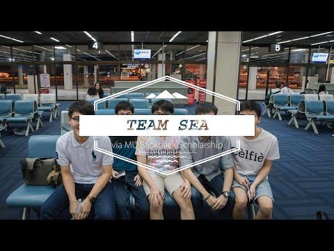 Team SEA via MU Backpack Scholarship @ Indonesia