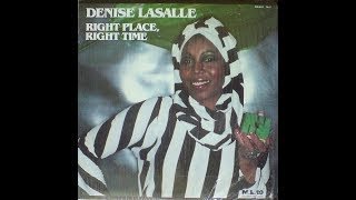 Denise Lasalle   e   Latimore   -    Right Place, Right Time