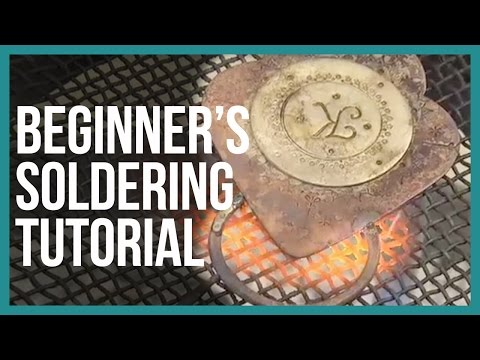 Beginner's Soldering Tutorial Jewelry Making - Beaducation.com