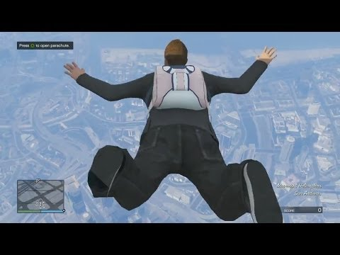 The Need For Speed! Bikes, Parachutes & Jets! - Grand Theft Auto 5