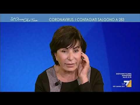 Maria Rita Gismondo: 'Ci sono persone che ci raccontano di aver avuto contatti con cinesi che ...