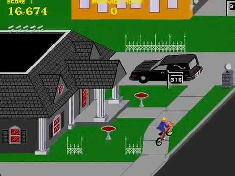 Arcade Longplay [856] Paperboy