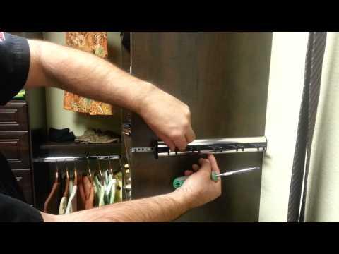 How To Adjust Sliding Belt And Tie Racks