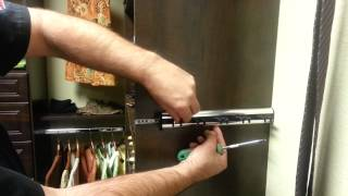 How to adjust sliding belt and tie racks Thumbnail