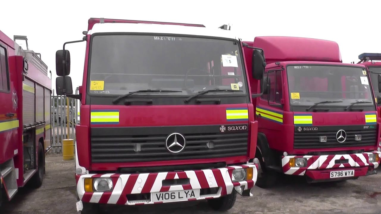 Fire Engines and Fire/ Rescue vehicles for sale direct from UK MOD ...