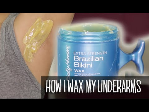 How i wax my underarms no strips needed drugstore hard wax demo how i wax my underarms no strips needed drugstore hard wax demo youtube solutioingenieria Gallery