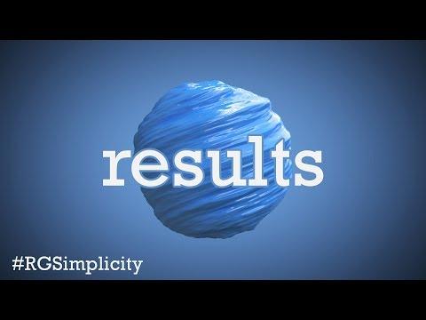 Simplicity Challenge Results #RGSimplicity