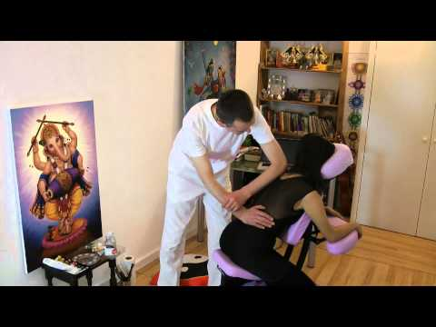 (Silvia)Maha Milan: Chair Massage, London 2012
