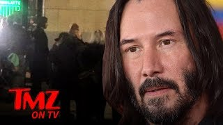 Keanu Reeves Filming 'Matrix 4' in San Francisco | TMZ TV