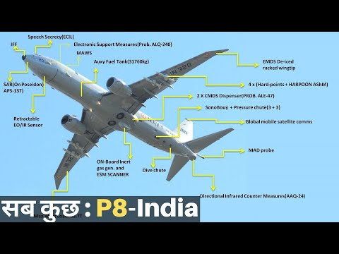 Everything About P8-I, The Submarine Hunter| Indian Should Buy 30 More?