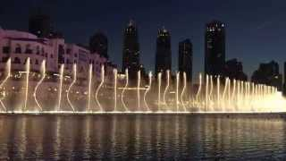 Fountain at The Dubai Mall - Nov 2015