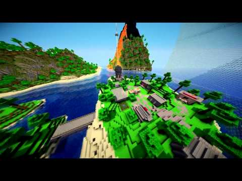 Survival Games Map: The Tortuga Islands