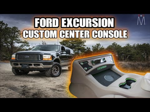 Ford Excursion Custom Modern Center Console The Build Explained