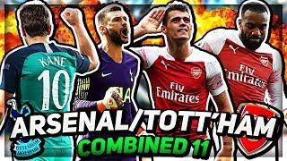 LACAZETTE OR KANE??? Arsenal vs Tottenham Combined XI | 💥AFTV Young Gunz💥