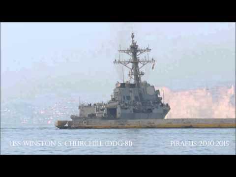USS WINSTON S. CHURCHILL (DDG-81)