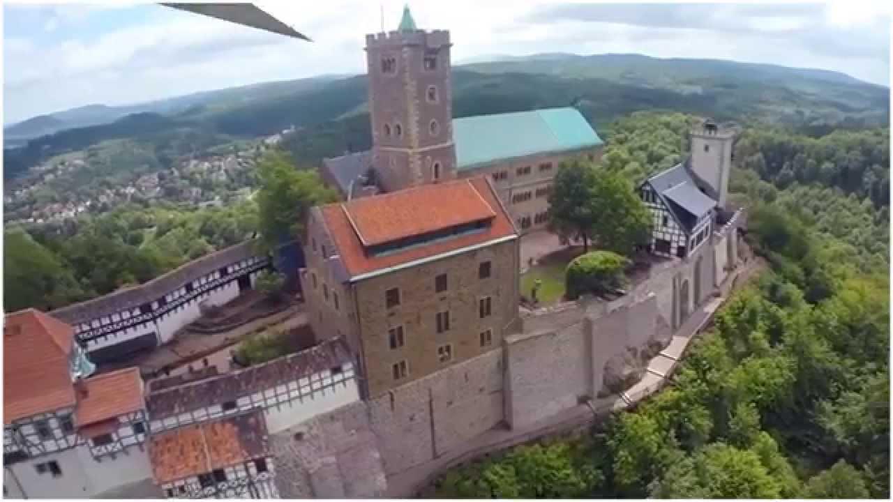 Германия. Замок Вартбург. Туризм, отдых и путешествия