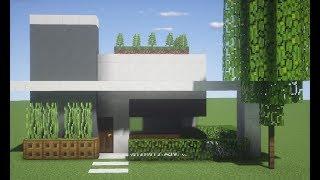 ✔️Minecraft Tutorial : Pequena Casa Moderna para Survival