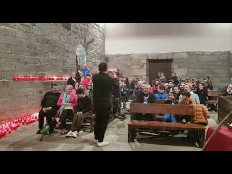 Concerto de Abraham Cupeiro na capela de San Alberte