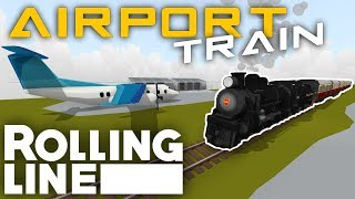 AIRPORT PROBLEMS!  -  VR Toy Train Simulator - Frantic Lines - Part 8
