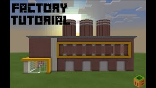 Minecraft How to Build a Factory Tutorial