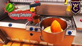 Первые Сложные Рецепты ∎ Cooking Simulator Прохождение #3
