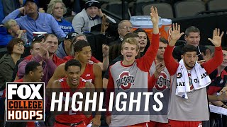 Ohio State vs. Creighton | FOX COLLEGE HOOPS HIGHLIGHTS