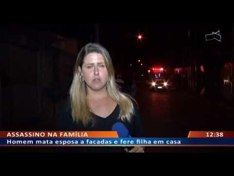 DF ALERTA - Homem mata esposa a facadas e fere filha em casa