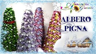 Albero Di Natale Kanzashi.Kanzashi Youtube