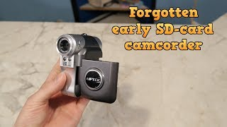 Forgotten Camera - Aiptek ISDV2, an early SD-Card camcorder.