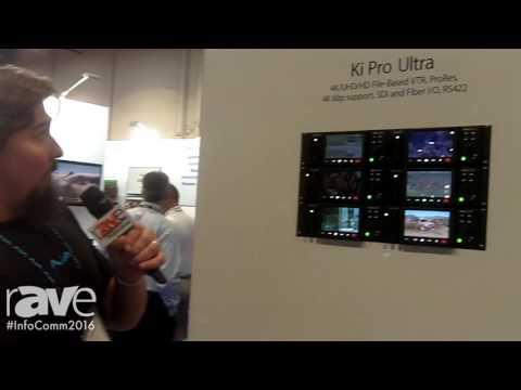 InfoComm 2016: AJA Video Systems Demonstrates KI Pro Ultra