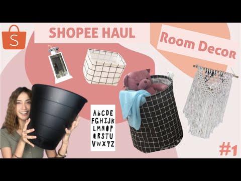 shopee haul room decor #part 1 || dekorasi kamar