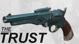 New Gambit Handcannon God Roll - The Trust