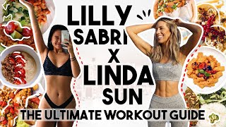 LILLY SABRI x LINDA SUN WORKOUT GUIDE  EATING &amp WORKING OUT LIKE LILLY SABRI FOR A WEEK (GIVEAWAY)