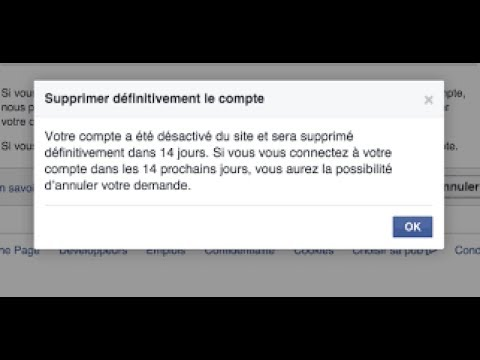 Comment Supprimer Definitivement Son Compte Facebook Youtube