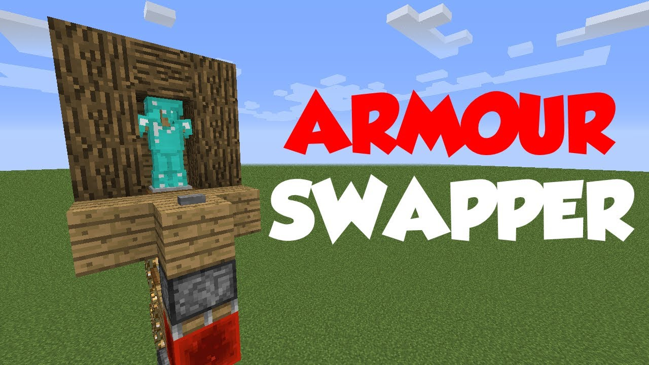 Minecraft redstone tutorial armour stand swapper ps4ps3xboxone minecraft redstone tutorial armour stand swapper ps4ps3xboxonexbox360pc youtube baditri Images