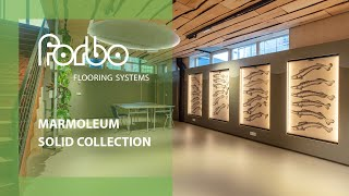 Forbo Flooring Systems Marmoleum Solid collection