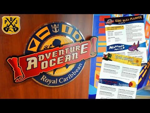 Quick Tips: Adventure Ocean - Royal Caribbean Youth & Teen Program - How Does It Work? - ParoDeeJay