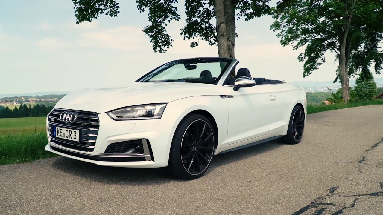 abt audi s5 cabriolet b9 youtube. Black Bedroom Furniture Sets. Home Design Ideas