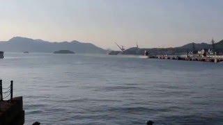 呉の海上自衛隊の潜水艦基地にて N81