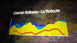 Le parcours du Trail de Bourbon 2016- 4/4 : du Chemin Ratineau � la Redoute