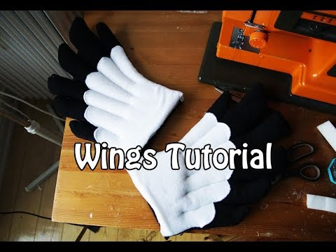tutorial 7 wings for angel dragon fursuits youtube