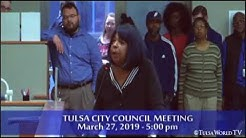 Eminent domain discussed at Tulsa City Council Meeting