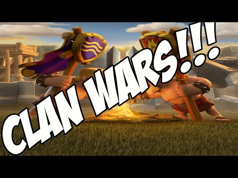 Clash Of Clans greece - Clan Wars - DRAWW!!!