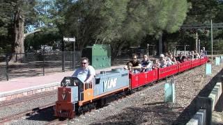 Miniature Railway at Eltham, Victoria, Australia