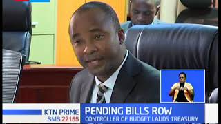 Controller of budget lauds treasury for withholding cash of 15 counties yet to clear pending bills
