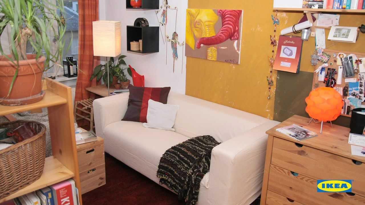 ikea baut um zimmer frei f r das neue sofa youtube. Black Bedroom Furniture Sets. Home Design Ideas
