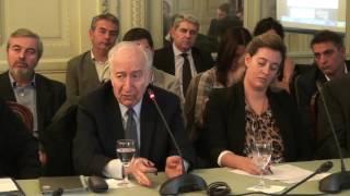 (2° Parte) Dr. Bernardo Klksberg en el Acto Constitutivo de la Com. Responsabilidad Civil del CCSC